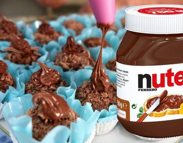 docinhos gourmet nutella